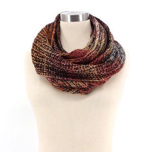 Steve Madden Sunrise Ombre Knit Infinity Scarf